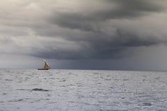 Tempestade no paraíso Fotos de Stock Royalty Free