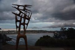 A tempestade ocorreu sobre Sydney durante a exposição pública Fotografia de Stock Royalty Free