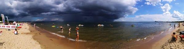 tempestade Olhar artístico em cores vívidas Fotos de Stock