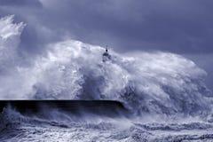 Tempestade pesada Foto de Stock