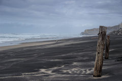 Tempestade sobre a praia Fotografia de Stock