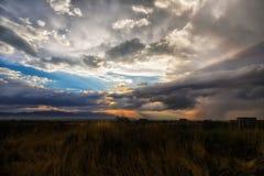 Tempestades do verão Imagens de Stock Royalty Free