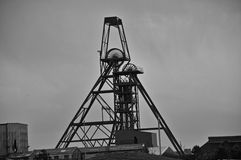 Tempestades sobre minas de lata Fotografia de Stock Royalty Free