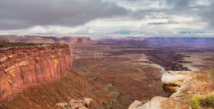 Tempeste al parco nazionale di Canyonlands immagine stock