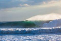 Tempeste delle onde Fotografie Stock Libere da Diritti