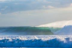 Tempeste delle onde Fotografie Stock