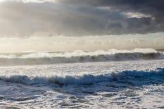 Tempeste delle onde Immagine Stock