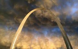 Tempeste di StLouis dell'arco dell'ingresso Fotografia Stock