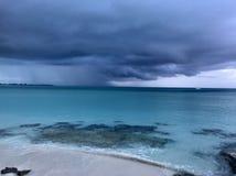 Tempestuoso en las Bahamas fotografía de archivo libre de regalías