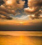 Tempi di tramonto fotografia stock