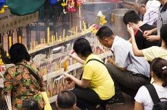 Tempiale 04 di Bangkok Fotografia Stock