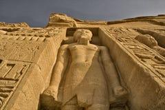 Tempiale 3 di Abu Simbel Immagine Stock