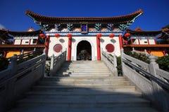 Tempiale ad ovest Fotografia Stock