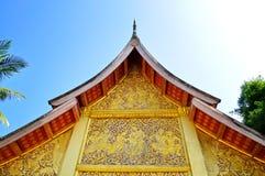 Tempiale al Laos Fotografie Stock Libere da Diritti