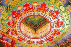Tempiale all'interno Fotografia Stock Libera da Diritti