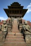 Tempiale antico Bhaktapur Fotografia Stock