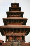 Tempiale antico, Bhaktapur, Nepal Immagine Stock