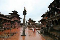 Tempiale antico, Bhaktapur, Nepal Immagine Stock Libera da Diritti