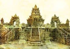Tempiale antico di Balinese immagine stock libera da diritti