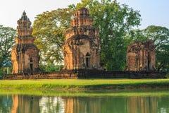 Tempiale antico in Tailandia Immagine Stock Libera da Diritti
