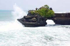 Tempiale Batu Bolong di Balinese Fotografie Stock Libere da Diritti