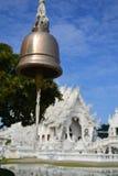 Tempiale bianco, khun del rong del wat, Chiang Rai Immagini Stock Libere da Diritti