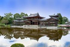 Tempiale buddista Byodoin in Uji vicino a Kyoto Fotografie Stock Libere da Diritti