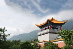 Tempiale buddista in Cina Fotografie Stock
