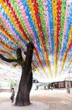 Tempiale buddista coreano Immagini Stock