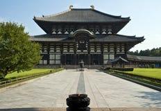 Tempiale buddista Nara Giappone di Todaiji Fotografia Stock Libera da Diritti