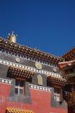 Tempiale buddista nel Tibet Immagini Stock