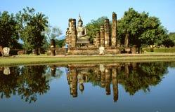 Tempiale buddista rovinato Immagine Stock Libera da Diritti