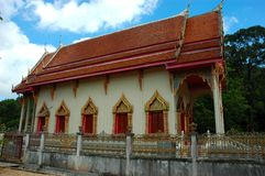Tempiale buddista, Surat, Tailandia. Immagini Stock