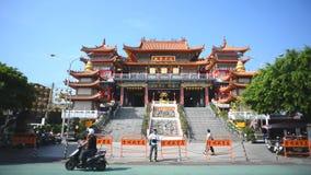 Tempiale buddista in Taiwan stock footage
