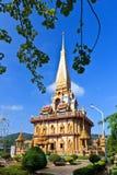 Tempiale buddista Wat Chalong Fotografia Stock Libera da Diritti