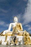 Tempiale buddista; Wat Doi Kham, Chiang Mai, Thailan Fotografia Stock Libera da Diritti