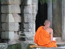 Tempiale cambogiano Fotografie Stock