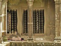Tempiale cambogiano Fotografie Stock Libere da Diritti