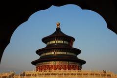 Tempiale celestiale a Pechino Fotografia Stock