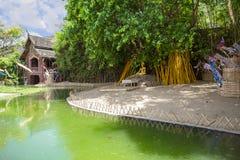 Tempiale in Chiang Mai Immagini Stock