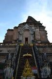 Tempiale in Chiang Mai fotografia stock