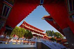 Tempiale cinese Fotografie Stock