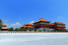 Tempiale cinese in Nonthaburi, Tailandia Fotografie Stock