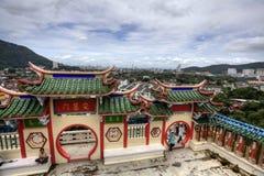 Tempiale cinese a Penang Immagini Stock Libere da Diritti