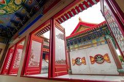 Tempiale cinese in Tailandia Immagini Stock Libere da Diritti