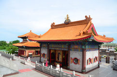 Tempiale cinese in Tailandia immagine stock libera da diritti