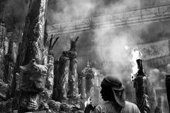 Tempiale cinese in Tailandia Fotografie Stock Libere da Diritti