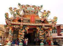 Tempiale cinese, Tailandia Immagini Stock Libere da Diritti