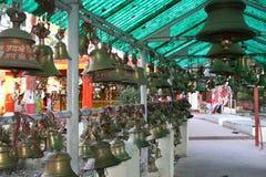 Tempiale d'ottone Bell Fotografie Stock Libere da Diritti
