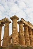 Tempiale dei magnum Grecia Fotografia Stock